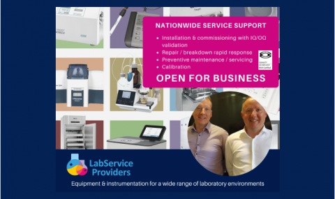 Labservice Providers - Open for Business