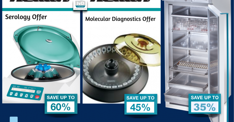 Laboratory Centrifuges and Incubators Promotion - LabService Providers